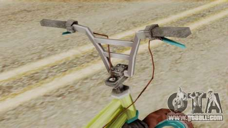 Crap BMX for GTA San Andreas right view