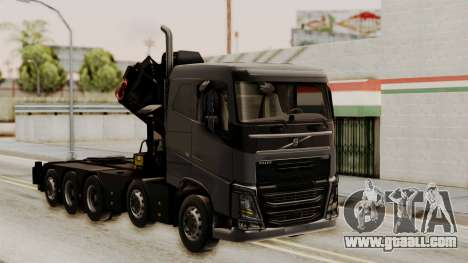 Volvo FH Euro 6 10x4 Low Cab for GTA San Andreas