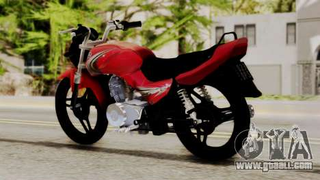 Yamaha YBR Imitacion for GTA San Andreas left view