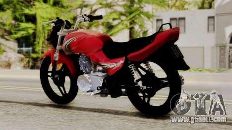 Yamaha YBR Imitacion for GTA San Andreas left view