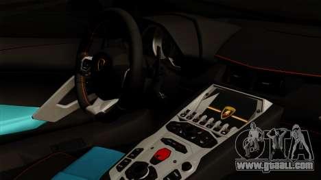 Lamborghini Aventador LB Performance for GTA San Andreas right view