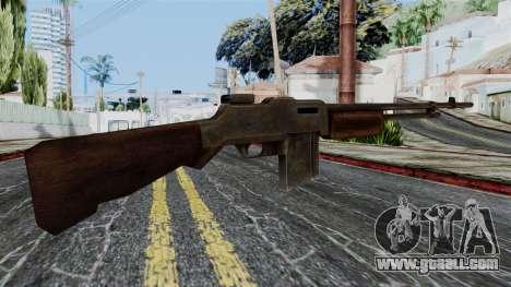 BAR 1918 from Battlefield 1942 for GTA San Andreas second screenshot