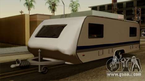 Camper Trailer for GTA San Andreas