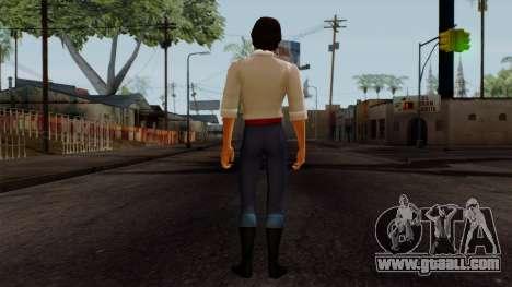 Eric (The Little Mermaid) for GTA San Andreas third screenshot