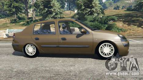 Renault Symbol 1.4L for GTA 5