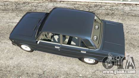 GTA 5 The VAZ-2105 back view