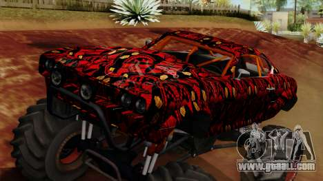 The Batik Big Foot for GTA San Andreas right view