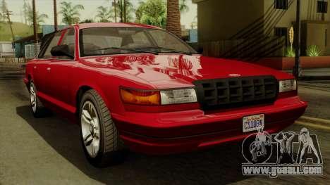 GTA 5 Vapid Stanier I IVF for GTA San Andreas