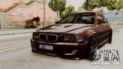 BMW M3 E46 2005 Stock for GTA San Andreas