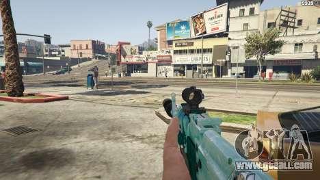 GTA 5 Assault rifle Anime third screenshot