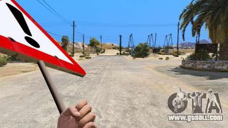 GTA 5 Road sign third screenshot