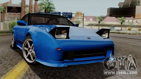 Nissan 180SX Street for GTA San Andreas