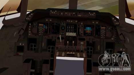 Boeing 747 MasKargo for GTA San Andreas inner view