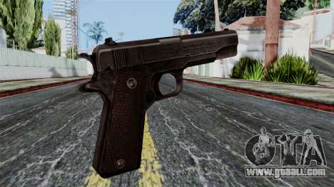 Colt M1911 from Battlefield 1942 for GTA San Andreas second screenshot