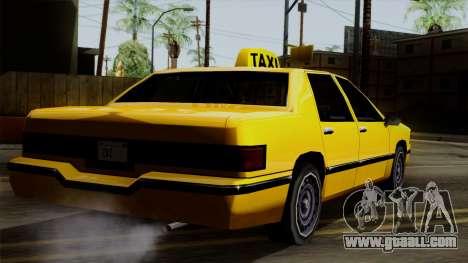 Elegant Taxi for GTA San Andreas left view