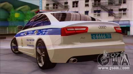 Audi A6 DPS for GTA San Andreas left view