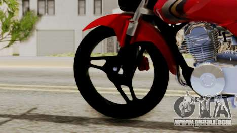 Yamaha YBR Imitacion for GTA San Andreas back left view