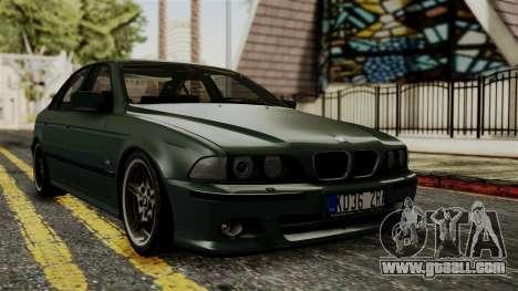 BMW 530D E39 1999 Mtech for GTA San Andreas
