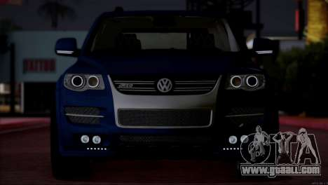 Volkswagen Touareg R50 2008 for GTA San Andreas inner view