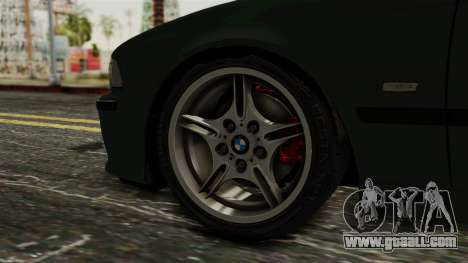 BMW 530D E39 1999 Mtech for GTA San Andreas back left view