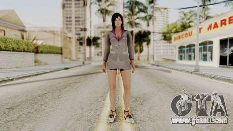 Kokoro Business Suit for GTA San Andreas second screenshot