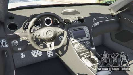 Mercedes-Benz SL 65 AMG Black Series for GTA 5