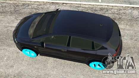 GTA 5 SEAT Leon II 2010 [Beta] back view
