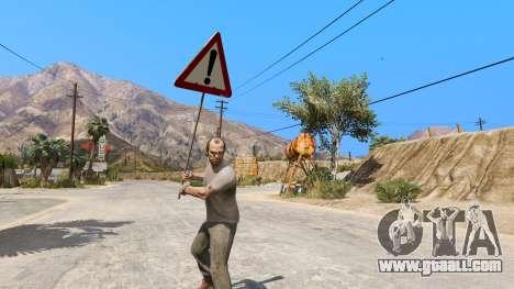 GTA 5 Road sign second screenshot