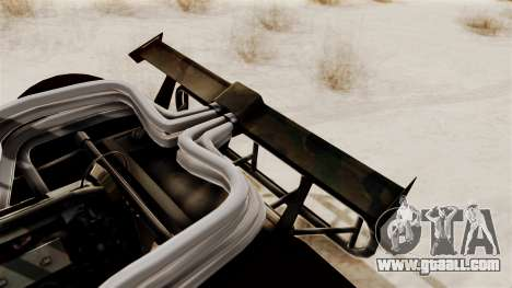 Camo Flip Car for GTA San Andreas right view