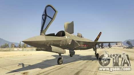GTA 5 F-35B Lightning II (VTOL) seventh screenshot