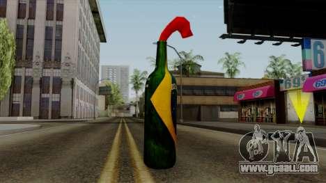 Brasileiro Molotov Cocktail v2 for GTA San Andreas second screenshot