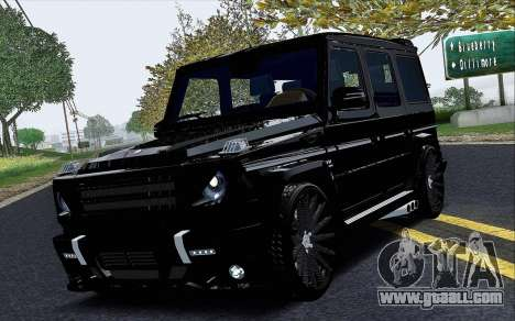 Mercedes Benz G65 Black Star Edition for GTA San Andreas