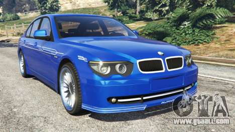 BMW B7 (E65) Alpina for GTA 5