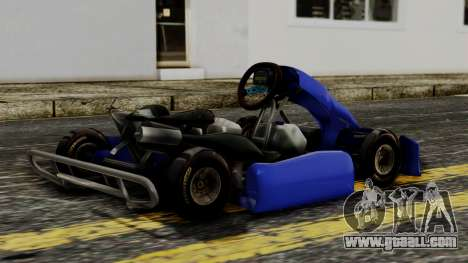 Crash Team Racing Kart for GTA San Andreas left view