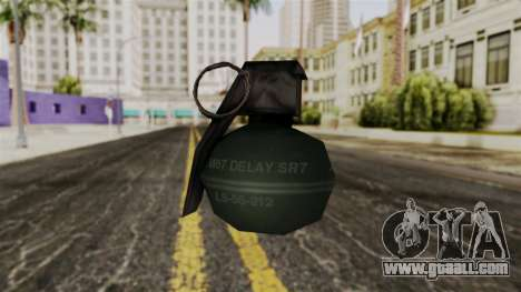 Frag Grenade from Delta Force for GTA San Andreas second screenshot