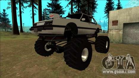 Willard Monster for GTA San Andreas side view