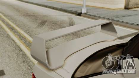Subaru Impreza WRX STI HQ for GTA San Andreas back view