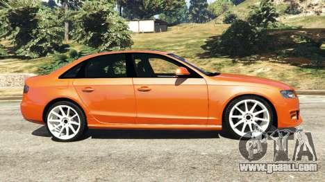 GTA 5 Audi S4 left side view