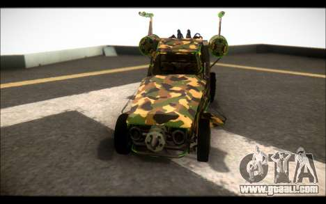 Camo Space Docker for GTA San Andreas right view