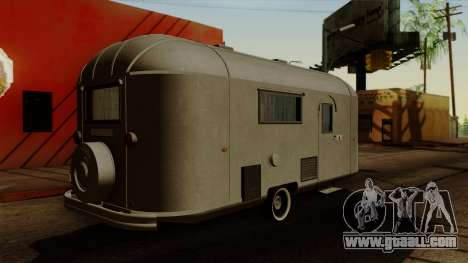 Camper Trailer 1954 for GTA San Andreas left view