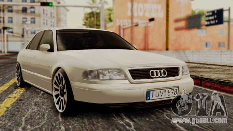 Audi A8 D2 for GTA San Andreas