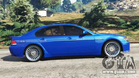 GTA 5 BMW B7 (E65) Alpina left side view