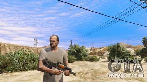 GTA 5 OTS-14 Groza from Battlefield 4