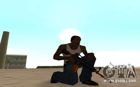 Nitro Weapon Pack for GTA San Andreas third screenshot
