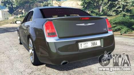 GTA 5 Chrysler 300C 2012 [Beta] rear left side view