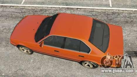 BMW 535i (E34) v2.0 for GTA 5