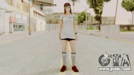 DOA 5 Hitomi Soccer for GTA San Andreas second screenshot