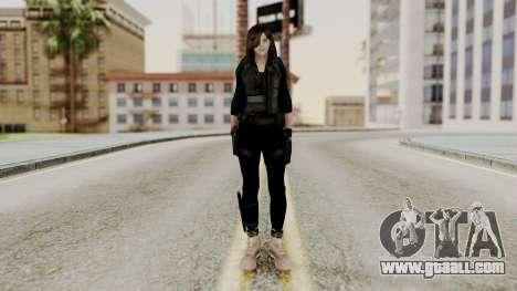 Christy Battle Suit 2 (Resident Evil) for GTA San Andreas second screenshot