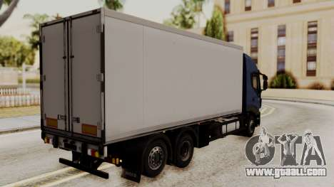 Iveco Truck from ETS 2 for GTA San Andreas left view