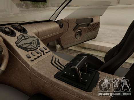 Infernus PFR v1.0 final for GTA San Andreas interior